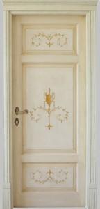 door hand made decorated lucrezia