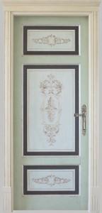 door luxurious painted londra