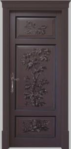 door of luxury solid wood berna