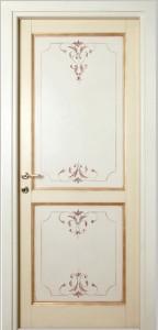 door painted in gold cleopatra