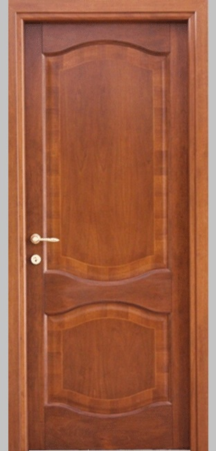 porta con intarsi legno figaro