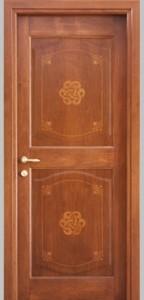 porta intarsiata massello nabucco