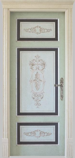 porta lussuosa dipinta londra