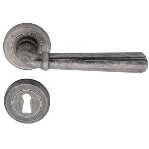 maniglia porta interna charme argento vecchio