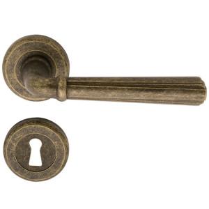 maniglia porta interna charme ottone anticato