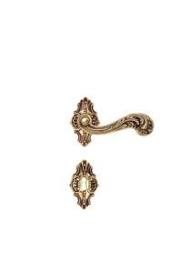 maniglie porte interne manierismo c01215 oro lucido