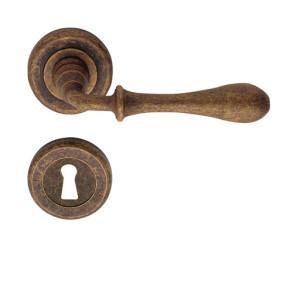 maniglie porte romea ottone anticato