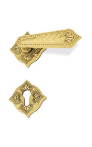 maniglie porte vittoriano c12111 oro